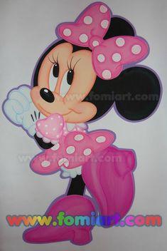 ¡ Moldes Minnie Mouse ! Moldes Disney para #descargar ! Buen día ! Descarga aqui o en el enlace (y más moldes en el blog) #crafty #free #molds #patrones @patronesgratiss Mickey E Minnie Mouse, Disney Mickey, Walt Disney, Disney Cards, Kids Party Decorations, Mini Mouse, Ideas Para Fiestas, Mickey And Friends, Kitty