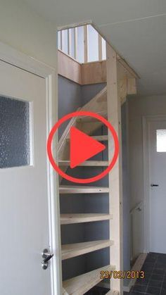 ml Grand Attic Renovation Staircases Ideas, Landscaping BestHomeDecors LandscapeDesing landscapingideas 55 Inspiring Loft Stair for Tiny House Ideas - Page 30 of 6155 Inspiring Loft Stair Small Staircase, Tiny House Stairs, Attic Staircase, Loft Stairs, Staircase Design, Staircase Ideas, Attic Loft, Loft Room, Attic Rooms