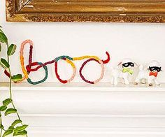 Boo Craft for the mantle