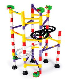 Take a look at this Marble Run Double Spiral Set by Quercetti on #zulily today!