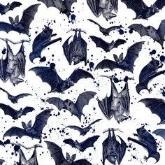 """BATS"" Art Print by DIVIDUS on Society6."
