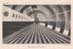 Vintage Art Deco graphics