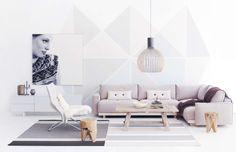 Sisustus - makuuhuone - Ideapark - Maalaisromanttinen - Perinteinen - 54254a94498ecdd3a9a6e968 - sisustus.etuovi.com Relax, Lounge, Living Room, Interior Design, Inspiration, Furniture, Home Decor, Ideas, Airport Lounge