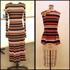 Annddd there you have it folks!!! Pieces 1&2!! Had an awful good time bringing out my stripe side.. Happy Sunday all! #love #fashion #sewin #stripes #orangeisthenewblack #black #orange #lines #dress #shirt #top #futureoffashion #follow #like #focus #getintoit #crafty #artsy #designer #seamstress #cut #womenswear #dailyfashion #inspire #difference #change #clothes #designmajor #student #work http://butimag.com/ipost/1554820011137178461/?code=BWT1I_1gBtd