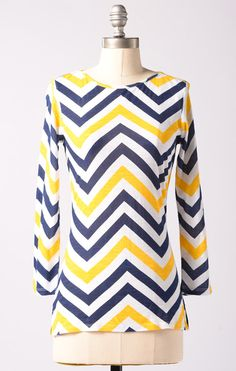 Chevron Accent Top