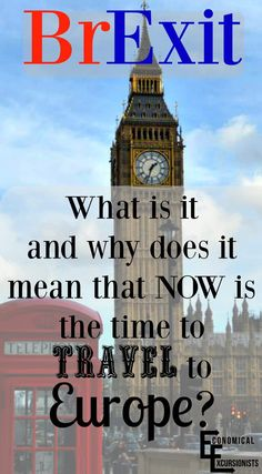 Brexit: What Does this Mean for Travel?