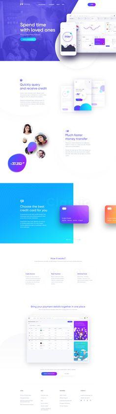 Finance App Landing