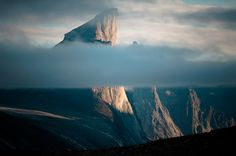 Mount Thor, Baffin's Land.  This can't be real...