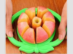 Apple Cutter http://creativekitchentools.com/product/apple-cutter/