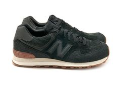 New Balance 574 Black / $110.00
