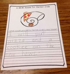 Fun in the Ocean! TONS of math, literacy, & writing activities! A House for Hermit Crab