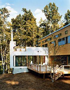dwell house exterior deck portrait