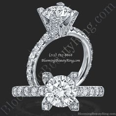Unique Engagement Rings by Jeremie Calvin on YouPic 3 Stone Diamond Ring, Antique Diamond Rings, Diamond Wedding Rings, Diamond Engagement Rings, Bridal Rings, Jewelry Trends 2018, Latest Jewellery Trends, Antique Style Engagement Rings, Earring Trends