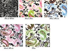Hey, I found this really awesome Etsy listing at http://www.etsy.com/listing/94379331/custom-crib-bedding-3-pc-paisley-minky