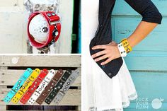 It blings. It snaps. And it's leather. So...you do the math. Snap to It- Bling Leather Snap Bracelet for 73% Off! #leatherbracelets pickyourplum.com