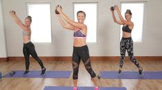20-Minute Flat-Belly and Toned-Arms Workout: Today's January Jump-Start workout is a two-for-one!