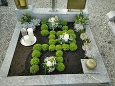 Hřbitov - Blumen ideen Cemetery Cemetery The post Cemetery appeared first on Blumen ideen. Grave Flowers, Cemetery Flowers, Large Floral Arrangements, Kitchen Ornaments, Real Plants, Indoor Plants, Shrubs, Outdoor Gardens, Succulents