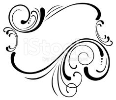 Scroll frame based on vintage style. Scroll Tattoos, Vintage Style, Vintage Fashion, Free Vector Art, Royalty Free Images, Pencil Drawings, Clip Art, Illustration, Frame