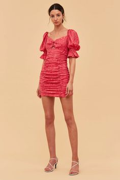 Shop the latest in women's dresses by all your favourite Australian brands online now at BNKR. With new styles dropping every week and express shipping on every order, you can get dressed up in no time! Pink Mini Dresses, Pink Dress, New Dress, Short Sleeve Dresses, Spring Fashion Trends, Dresses Online, Online Clothes, Get Dressed, Dress Collection