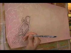 Fischtale Bible Journaling Painting Tutorial - YouTube