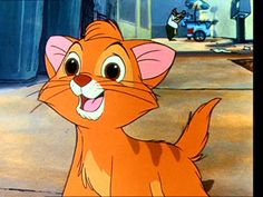 """Took a """"Which Disney animal character are you?"""" quiz. I got Oliver! :D"""