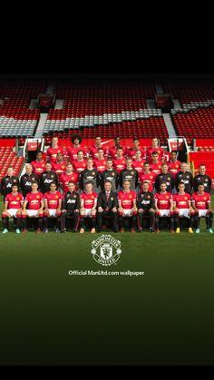 Official Man Utd wallpaper. 2014/15 season