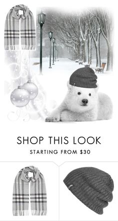 """""""#Beanies"""" by detroitgurlxx ❤ liked on Polyvore featuring Burberry and Outdoor Research"""
