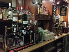 The domain of the bartender