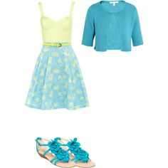 """Spring in my step"" by elizabeth42010 on Polyvore"