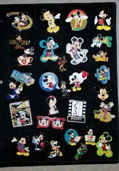30 Disney Mickey Mouse Pins Disneyana WaltDisney