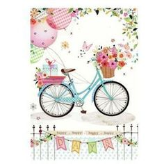 SPRING BICYCLES CLIPART Graphics