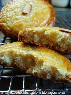 The Dutch Table: Gevulde Koek (Dutch Almond-filled Cookie) --- missing these, found a recipe online to try (can't wait! Dutch Desserts, Cookie Desserts, Cookie Recipes, Dessert Recipes, Drink Recipes, Marzipan, American Chocolate Chip Cookies, Dutch Cookies, Biscuits
