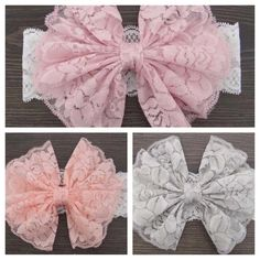 candy lace  headband by tutusandbowtie on Etsy