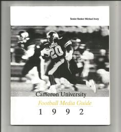 college football media guide: 1992 cameron university aggies oklahoma ncaa ii from $0.99