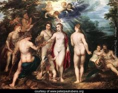 The Judgment of Paris c. 1625  Peter Paul Rubens