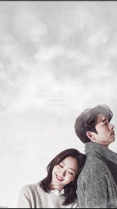 Gong Yoo and Kim Go-eun Goblin Kdrama Poster, Goblin Lockscreen, Goblin The Lonely And Great God, Goong Yoo, Goblin Gong Yoo, Yoo Gong, K Wallpaper, Drama Memes, Drama Film