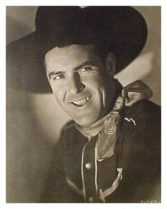 Ken Maynard, silent and sound Western actor, stuntman, singer 1895-1973