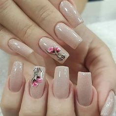25 Trending Light Nails Color for Fall Winter Pink Nail Colors, Pink Nail Art, Fall Nail Colors, Color Nails, Mint Nails, Beige Nails, Violet Nails, Rose Gold Nails, Cute Nails