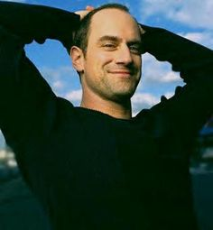 Christopher Meloni. I think it's that smile..
