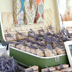 Lavender soaps - wedding favors