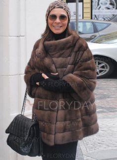 Coats - $98.44 - Shearling & Faux Shearling 3/4 Sleeves Other Coats (1715226946)