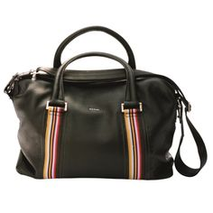 Paul Smith leather holdall