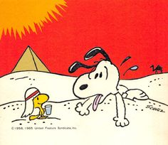 Snoopy in Egypt                                                       …