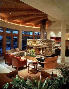 cubierta en madera