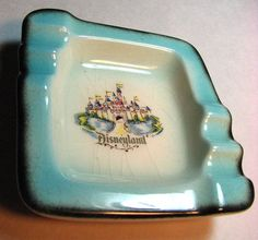 retro disney souvenir ashtray