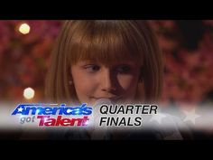 "Grace VanderWaal: 12-Year-Old Sensation Sings Original ""Beautiful Thing"" - America's Got Talent 2016 - YouTube"