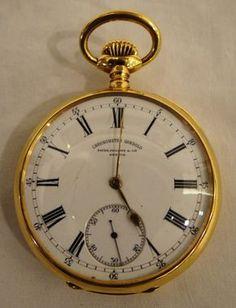 4fd206662e2 Magnifico relógio de bolso Patek Philippe em ouro