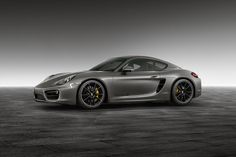 "Porsche Exclusive Cayman S ""Agate Grey Metallic"" Cayman S, 2015 Porsche Cayman, How To Clean Headlights, Black Wheels, Automotive Industry, Weekend Is Over, Dream Cars, Grey, Vehicles"