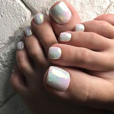 32 Ideas Gel Pedicure Designs Valentines Day For 2019 Pedicure Colors, Pedicure Nail Art, Pedicure Designs, Toe Nail Designs, White Pedicure, Pedicure Summer, Pedicure Ideas, Toe Nail Color, Toe Nail Art