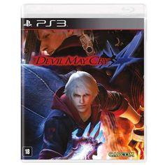 Casas Bahia Jogo: Devil May Cry 4 - PS3 - R$49,90 á vista